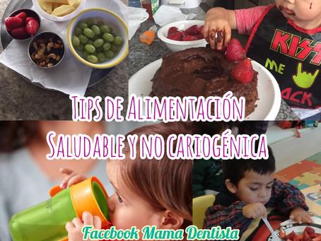 Tips de Alimentación Saludable y No Cariogénica