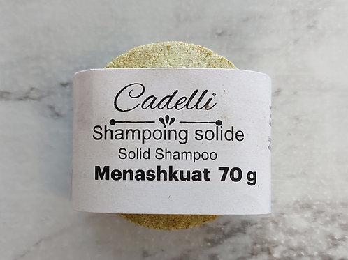Shampoing solide Menashkuat