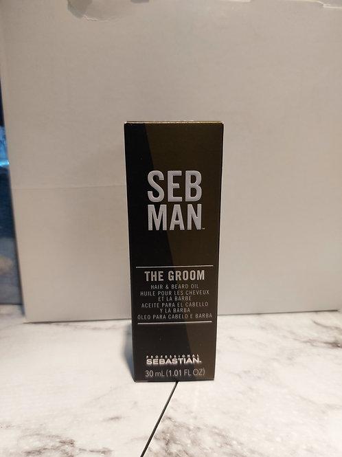 Huile barbe et cheveux Sebman