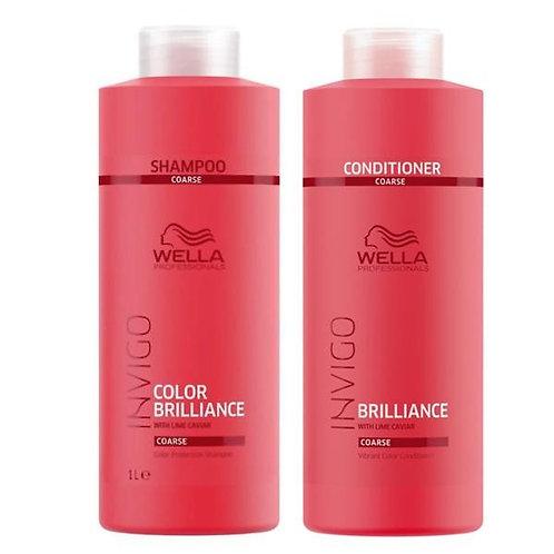Shampoing/Conditionner Brillance Wella