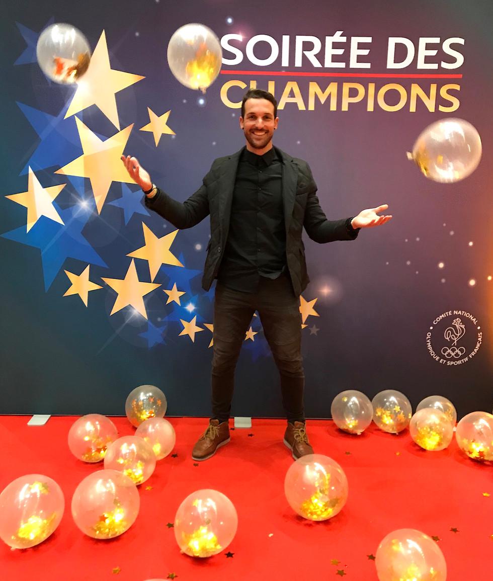 Soirée des Champions du Monde Français