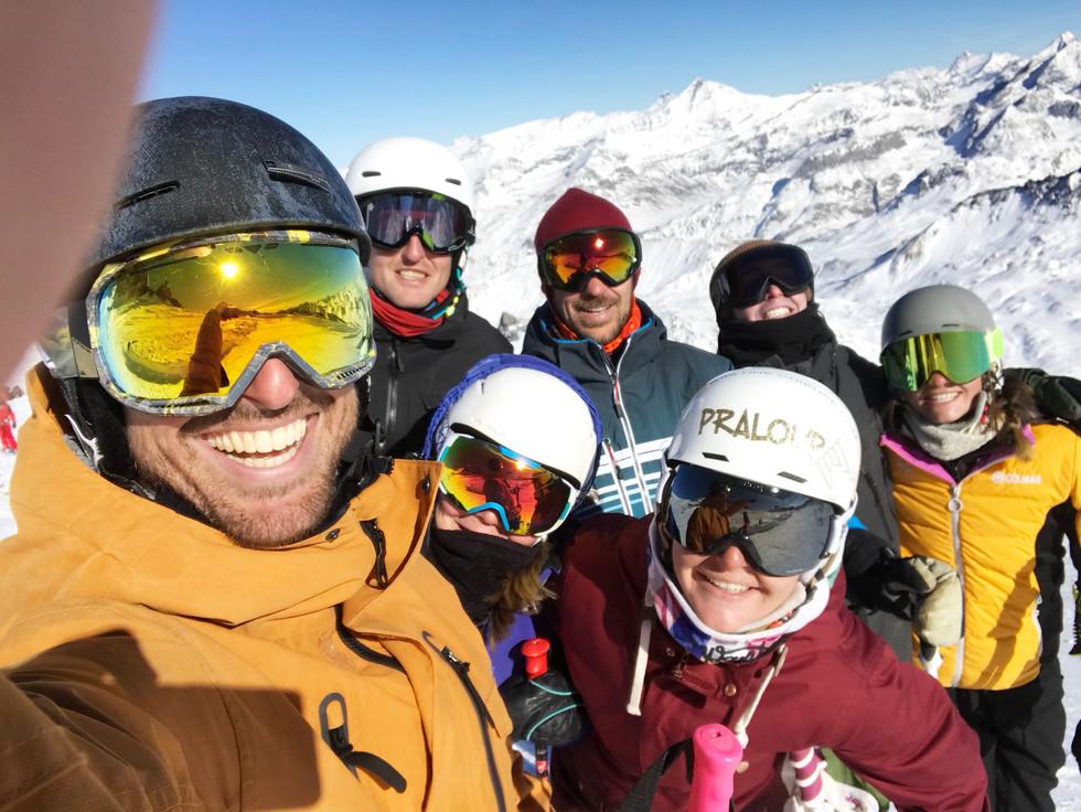 Moniteurs de ski diplômés!