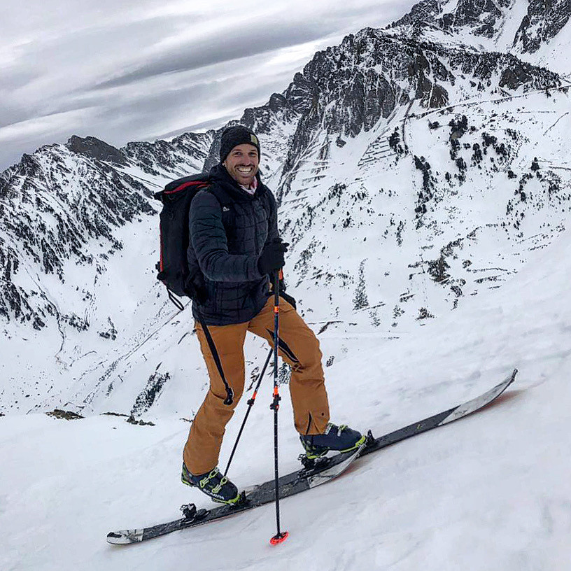 Jour blanc: à la montagne, on garde le sourire 😁❄️✨