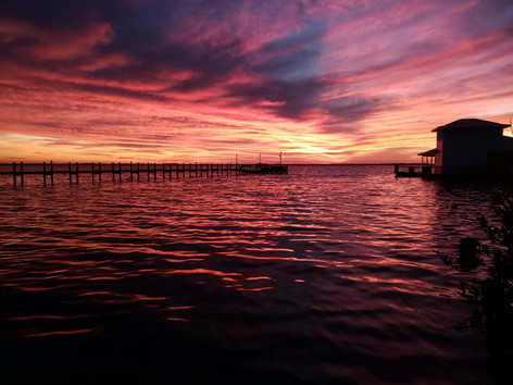 Sunset over Merritt Island, Florida