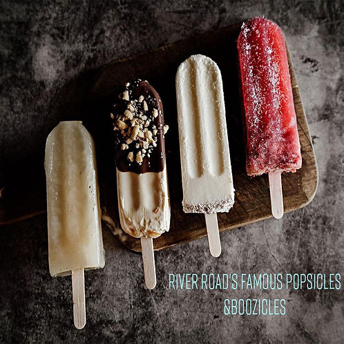 6 pack of River Road's Popsicles or Boozicles