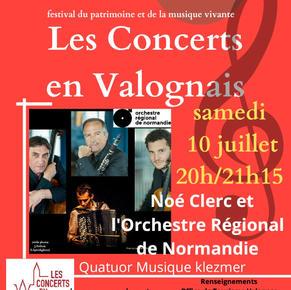 Les Concerts en Valognais 10 juillet 2021 (1) - Concerts promenades