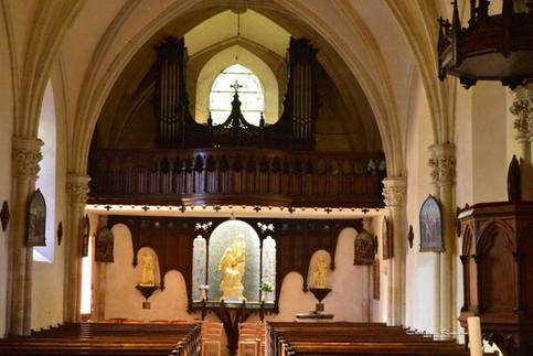 Eglise St-Germain intérieur