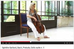 Ophélie Gaillard, violoncelle.