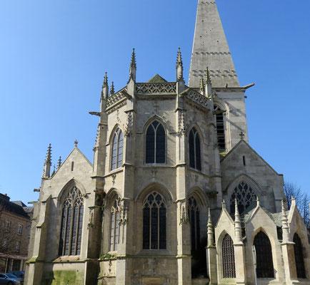 L'église Saint-Malo de Valognes