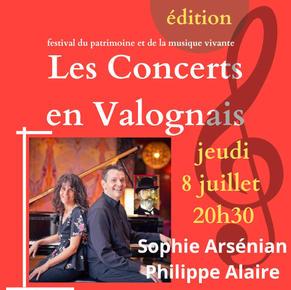 Les Concerts en Valognais 8 juillet 2021