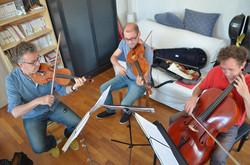 SKAALD, trio à cordes