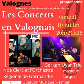 Les Concerts en Valognais 10 juillet 2021 - Concerts promenades