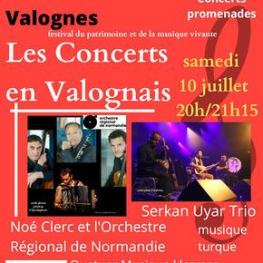 LES CONCERTS EN VALOGNAIS - 10 juillet 2021 - Concerts promenades