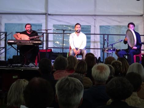Concert Trio Serkan Uyar du samedi 10 juillet 2021 (1) - Photo Christian Luc