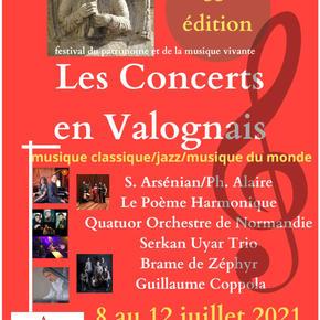 Les Concerts en Valognais 2021