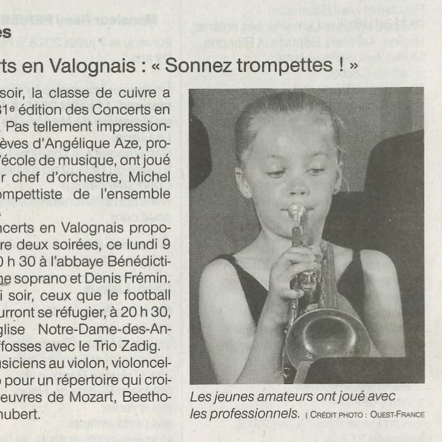 Concerts en Valognais - Sonnez trompette