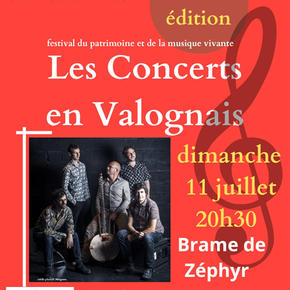 Les Concerts en Valognais 11 juillet 2021