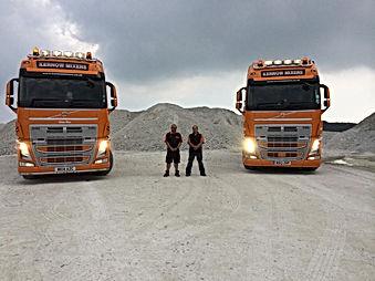 Kernow Mixers, about us, concrete, sand , aggregates