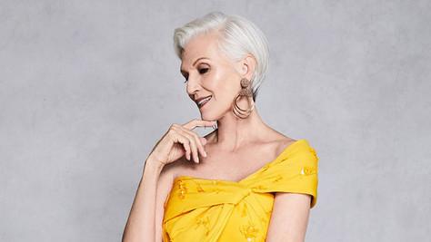 DKMS US Model: Maye Musk Stylist: Julie Perry Makeup: Marc Cornwall Hair: Adam Maclay