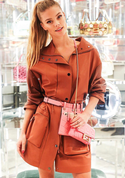 Fendi Model: Nina Agdal Stylist: Jamie Frankel Makeup: Jennifer Nam