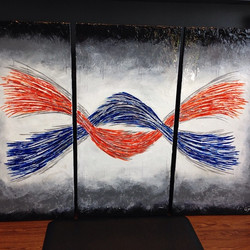 So Excited delivered this custom painting tonight! #perfectpalettebyclyons #bellezzahairsalon  #Tryp
