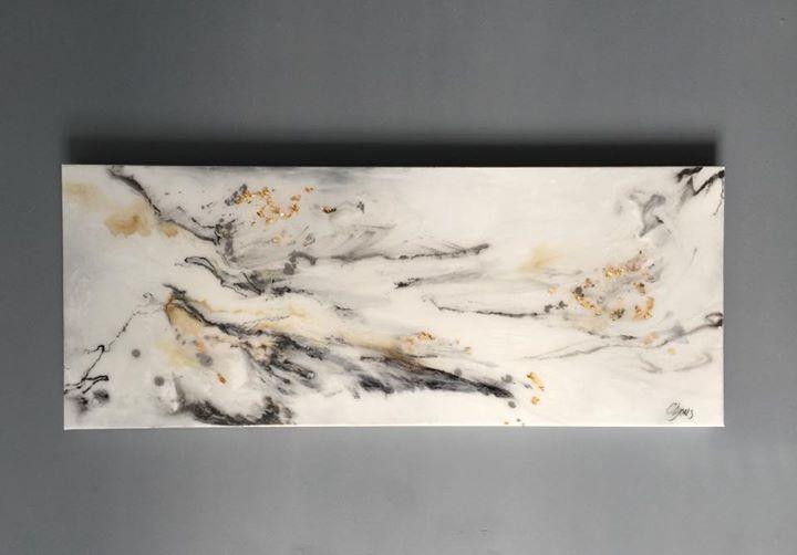 New Resin Painting, close up look 👀 _#clyonsart _#artresin #hendersonvilletn #colleenlyonsart