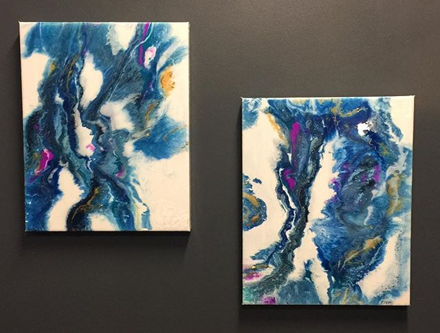 Two new Amazing Pieces of Resin Artwork