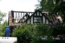 construction , remodeing, fire damage, wynnewood, before and after