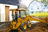 andrew stein on backhoe, additions,remodeling, radnor township, devon