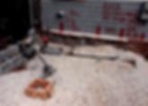 rough plumbing, careful layout of plumbing in concrete slab