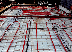 radiant heat in slab, residential radiant heat