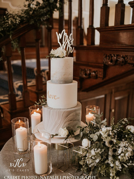 Marble and Love | Jip's Cakes : wedding cakes Essex & Hertfordshire