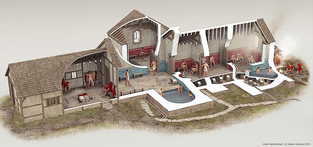В римских термах
