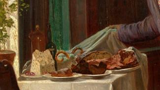 Барашек из масла - старинное украшение пасхального стола