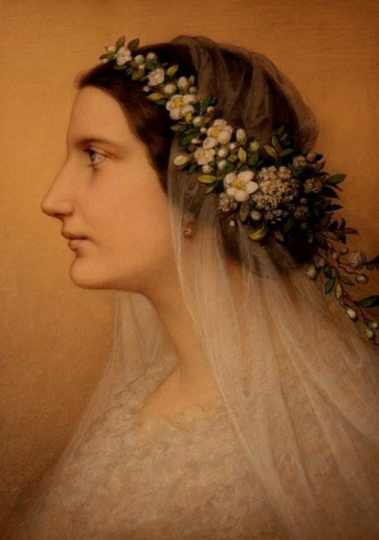Marie Ellenrieder Bridal Portrait of Friederike Martignoni