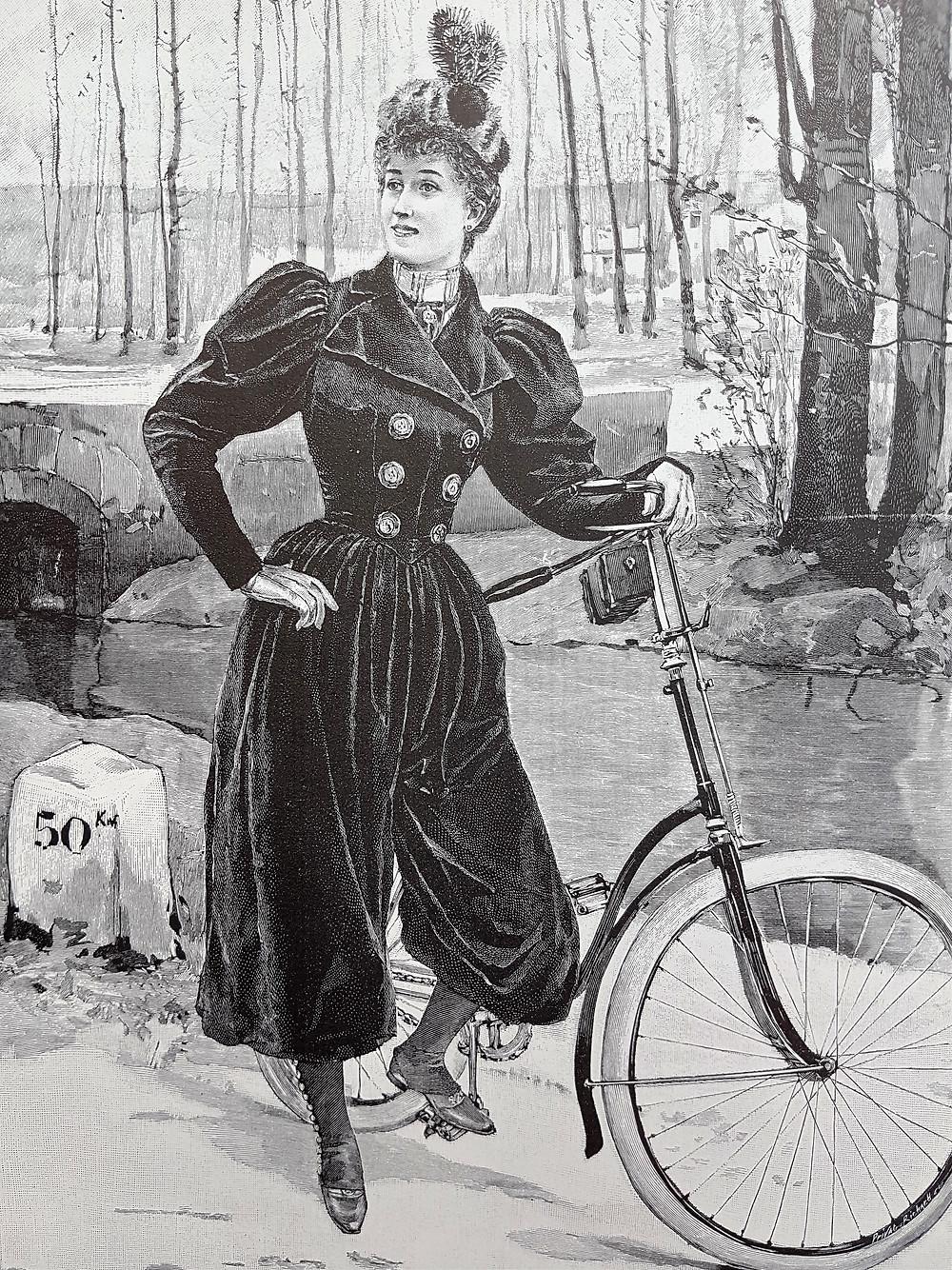 наряд для езды на велосипеде