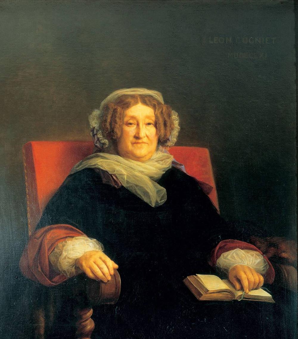 Портрет мадам Клико. Леон Конье, 1851-1861гг.
