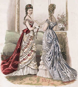 Список одежды без которой не могла обойтись аристократка концa XIX века
