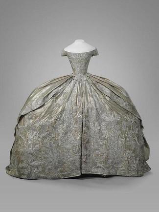 Венчальное платье Екатерины Великой