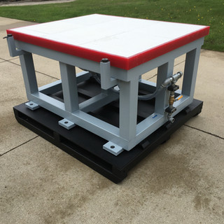 CNC Vacuum Trim Fixture Table