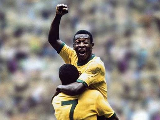Mais um gol de placa do Rei Pelé – garotada, aprendam com o Maior