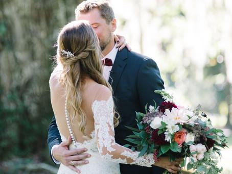Magnolia Plantation Carriage House Wedding | Kaley & Pete