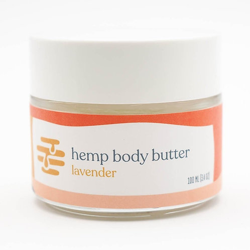 Lavender Hemp Body Butter