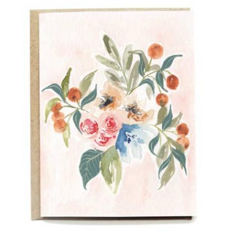Blank Spring Card