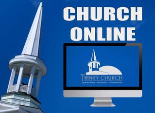 Online Worship! Sundays @ 10am