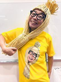 納豆お兄さんティシャツ