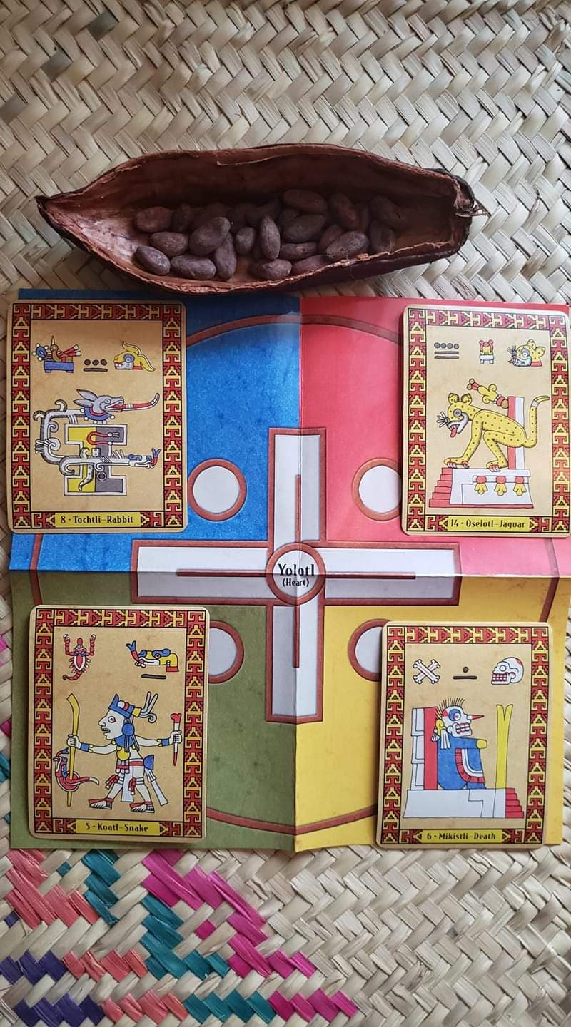 Toltec Oracle ( Cards reading)