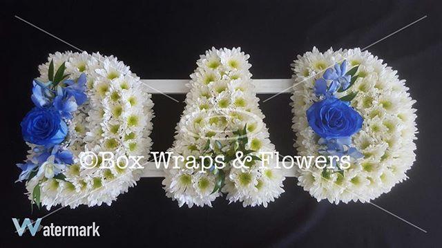 #sympathyflowers #namewreath #dadwreath