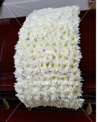 #casketblanket #sympathywreath #boxwraps