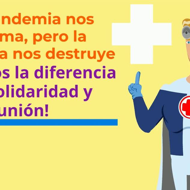 Solidaridad con el personal de salud